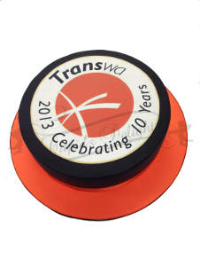 Transperth Corporate Cake