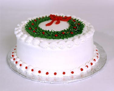 Custom christmas cakes Perth