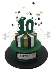 Custom corporate cakes Perth