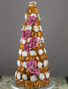 Custom croquembouches cakes Perth