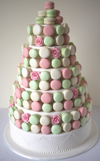 Custom macarons cakes Perth