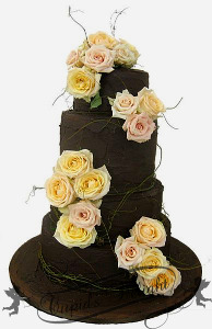Custom wedding cakes Perth